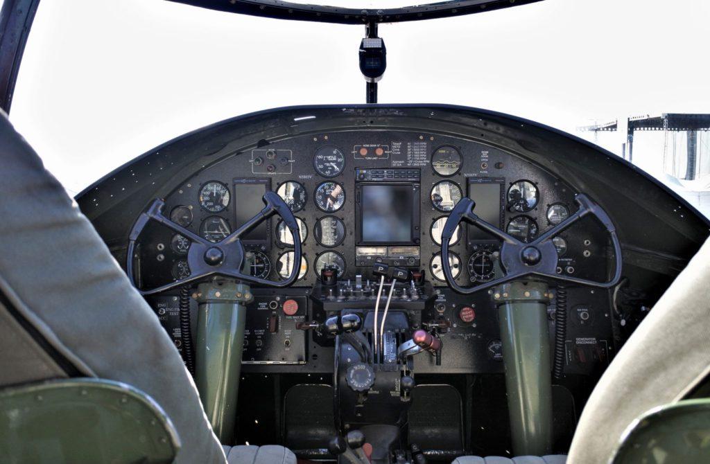 PBJ-1J Cockpit
